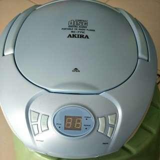 Akira portable CD Radio Player