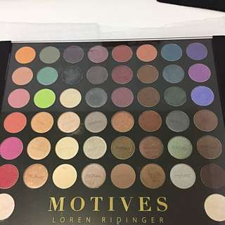 Motives® Pro Color Eye Shadow Palette - 50 Eyeshadows