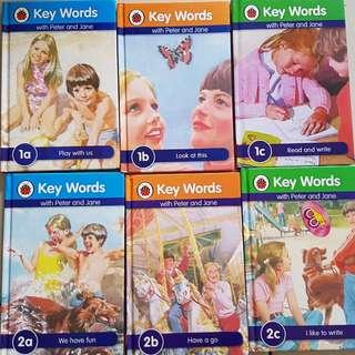 Ladybird book Peter and Jane (Key Words)