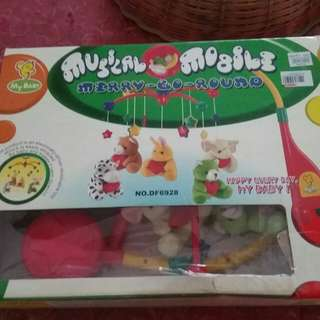 Haging toys babies