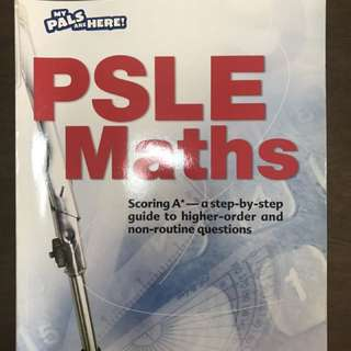 PSLE Maths My pals are here