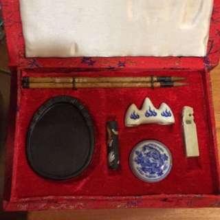 文房四宝 Chinese calligraphy set