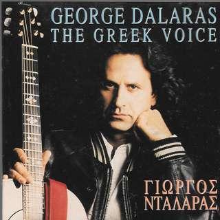 CD GREEK ALBUM - THE GREEK VOICE - GEORGE DALARAS //BOX Z //