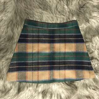 Cute Plaid Skirt!!