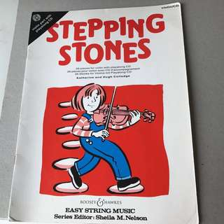 Stepping Stones for Violin Beginners