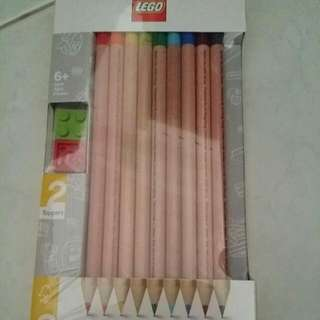 Lego colored pencils
