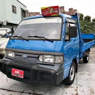 2009年載卡多貨車2.0~一手車~里程純跑9萬km~升降尾門~可全額車貸60期