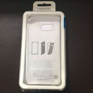 Samsung clear view cover Note 5