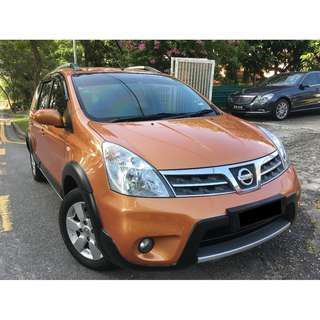 NISSAN GRAND LIVINA X-Gear 1.6L (A) 2013 FULL SPECS [LIKE NEW][1 OWNER][FULL LOAN][PROMOTION]