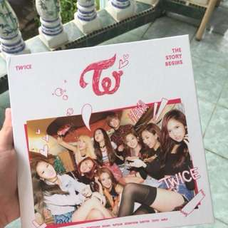 Twice 1st Mini Album - The Story Begins (Unsealed)