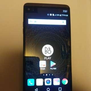 LG V20 black single card water full