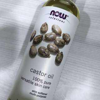 (Used) Castor Oil Jumbo Size 100 % Pure 16 oz (473ml)