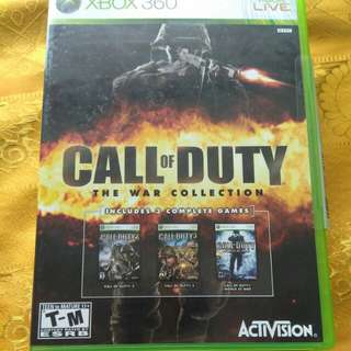 Xbox 360 Games -3 games