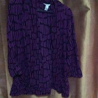 Purple Blazer (Love by F21)