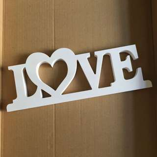 LOVE 擺設