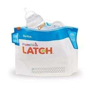 [旅行必備]Munchkin奶樽消毒袋