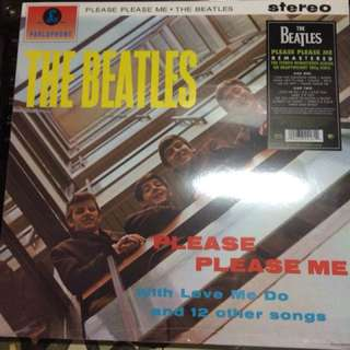 The Beatles Please Please Me Vinyl Record 33 rpm