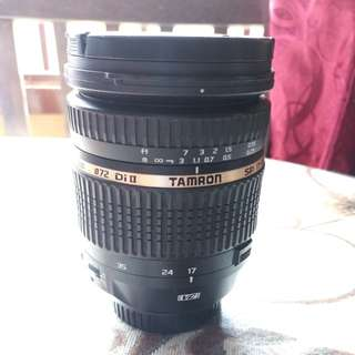 Tamron SP 17-50mm F/2.8 VC Canon Mount ¢72DiII