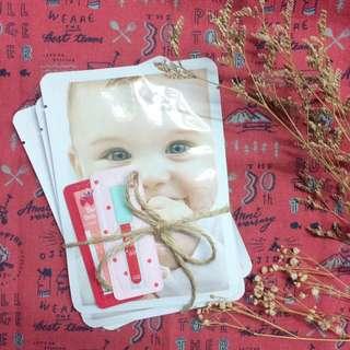 嬰兒蠶絲面膜 套組 三入一組 聖誕禮物首選