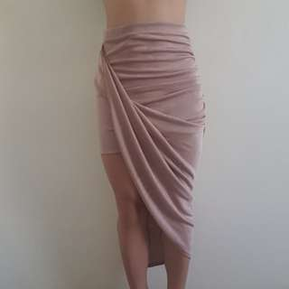 ASYMMETRICAL SKIRT NEW WITH TAGS