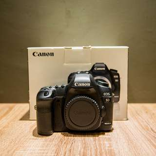 Canon 5D Mark 2 with box