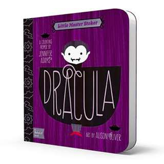 BABYLIT Dracula: A Counting Primer Baby Toddler Board Picture Book
