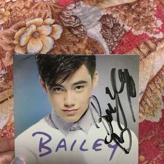 Bailey album with signature