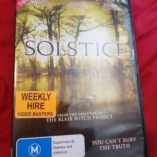 Solstice DVD. Ex-Rental. RARE