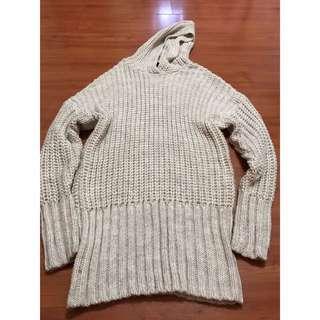Original H&M Hooded Wool Sweater Dress