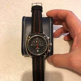 Maserati watch Chrono Black dial