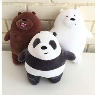 **ON HAND** We Bare Bears plush toy