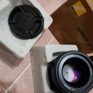Nikon lens af 50mm f/1.8d