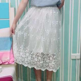 正韓 紗裙