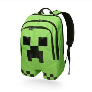 Minecraft creeper bag