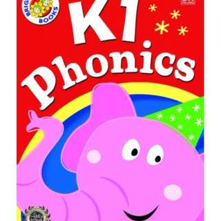 新加坡代購 Bright Kids K1 Phonics
