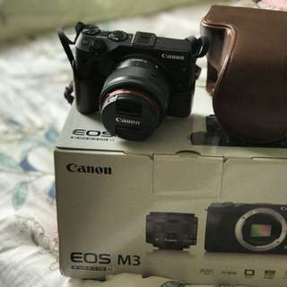 Canon EOS M3 with 15-45 STM kit