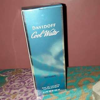 Davidoff cool water for women 100ml