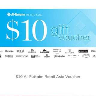 12% OFF ROBINSONS GIFT VOUCHER worth $160