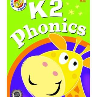新加坡代購 Bright Kids K2 Phonics
