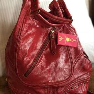 Ipanema red tote bag