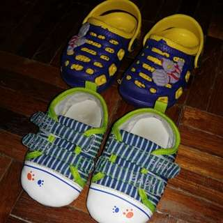 BABY BOY SHOES OF 2 pairs