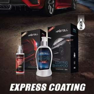 KRISTALL COATING SHAMPOO+TOP SPEED COAT