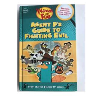 Phineas and Ferb: Agent P's Guide to Fighting Evil (144 pg)