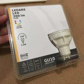 IKEA LED LEDARE Lamp Bulb GU10 200lm
