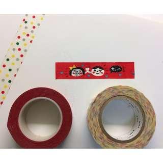 mt紙膠帶+造型紙膠帶(兩捲)