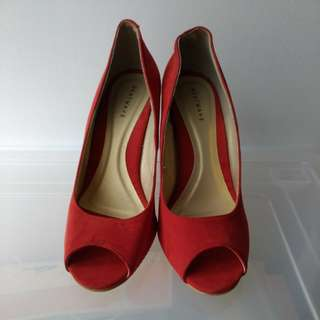 Heatwave Wedges Red