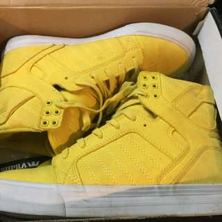 Yellow Supra Skytop