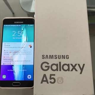 Galaxy A5 2016 Glod