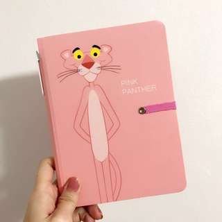 Pink Panther Notebook