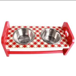 Pet Food Bowls Set